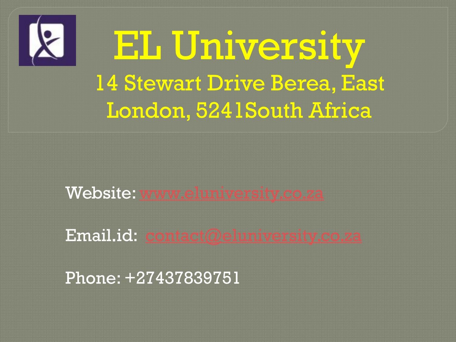 Fashion Designing Courses Online By East London University Issuu