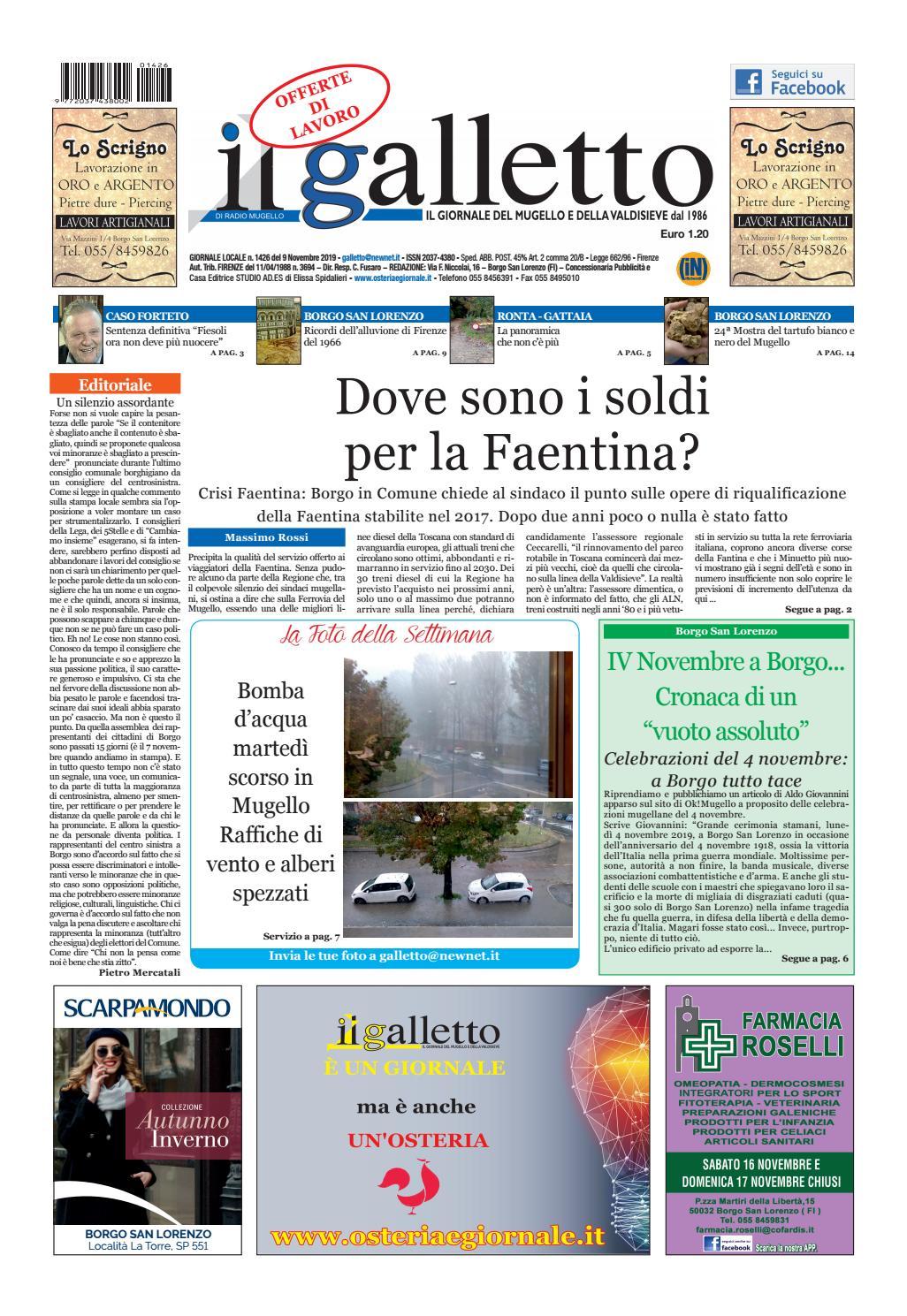 Svuota Appartamenti Gratis Firenze galletto 1426 del 9 novembre by il galletto giornale - issuu