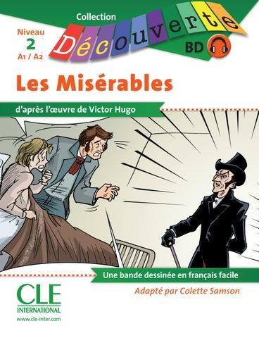 Bd Les Miserables Niveau 2 A1 A2 Lecture Decouverte