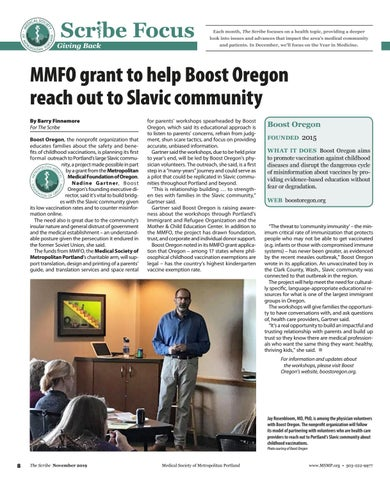 Page 8 of MMFO grant helps Boost Oregon reach Slavic community