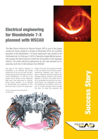 [DIAGRAM_09CH]  Electrical engineering for Wendelstein 7-X planned with WSCAD by WSCAD  Americas - issuu   Wendelstein Engineering Schematics      Issuu
