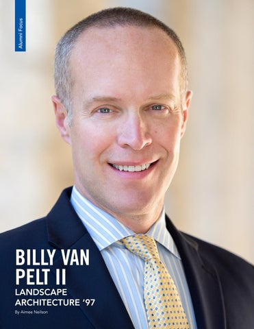 Page 14 of Alumni Focus - Billy Van Pelt II