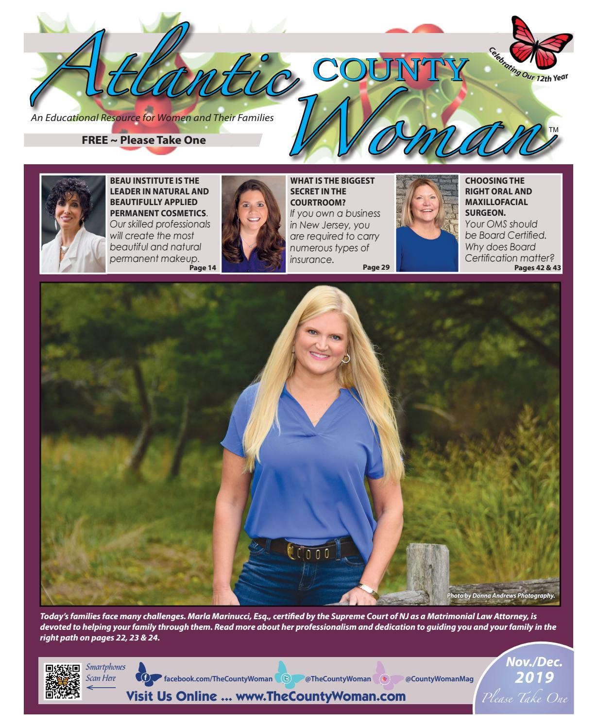 Atlantic County Woman November December 2019 By The County Woman Issuu