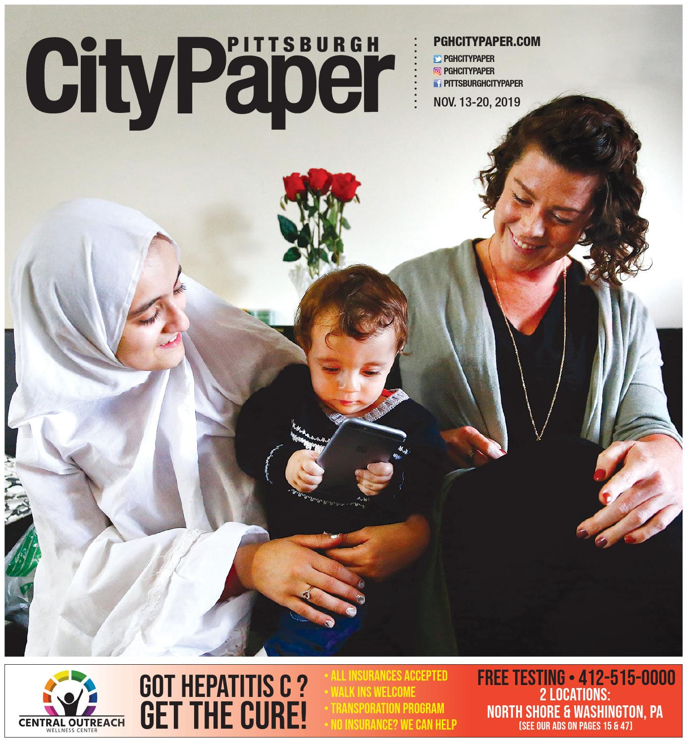 November 13 2019 Pittsburgh City Paper By Pittsburgh City