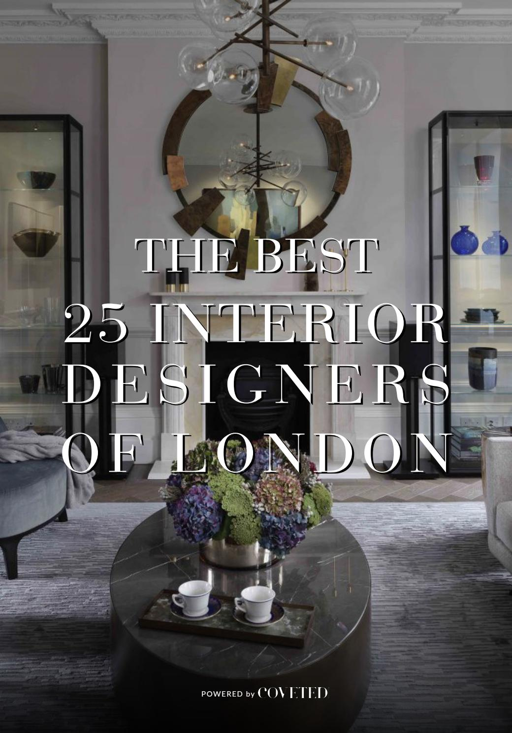 The Best 25 Interior Designers Of London By Trend Design Book Issuu