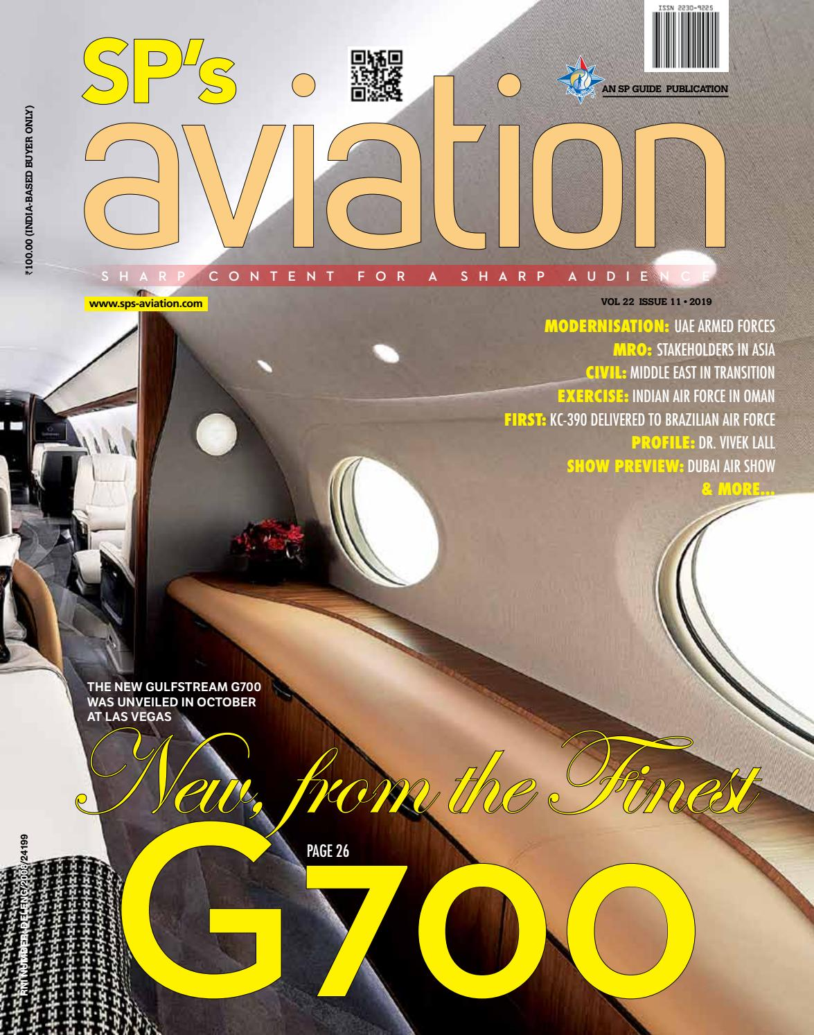 SP S Aviation Issue 11 2019 By SP Guide Publications Pvt