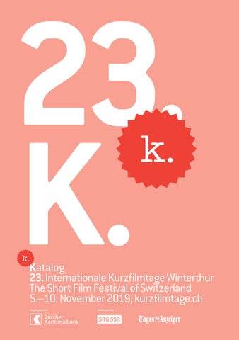 Katalog 23 Internationale Kurzfilmtage Winterthur By Int