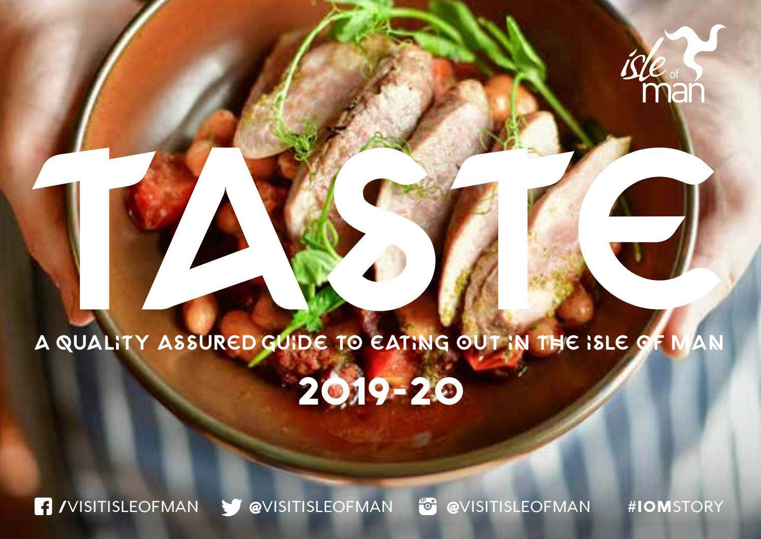 Visit Isle Of Man 2019 Taste Brochure By Visit Isle Of Man