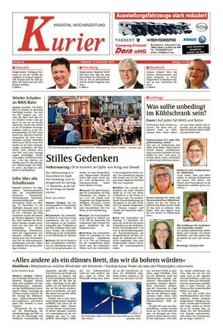 Kinzigtal Kurier 13 11 2019 by Lahrer Zeitung GmbH - issuu