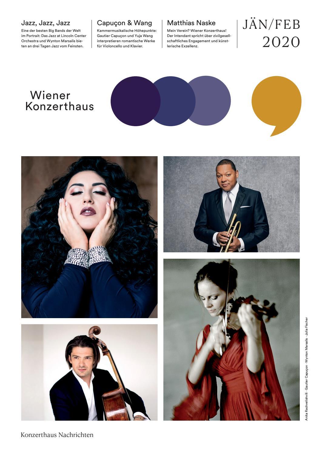 Konzerthaus Nachrichten Jänner/Februar 20 by Wiener Konzerthaus ...