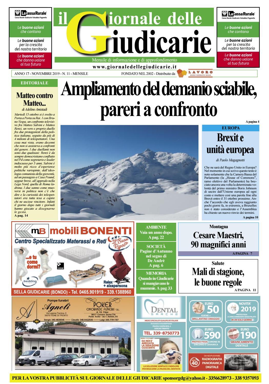Centro Internazionale Del Materasso Sandrigo.Giornale Delle Giudicarie Novembre 2019 By Matteo Ciaghi Issuu