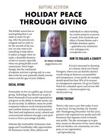 Page 14 of Naptime Activism: Holiday Peace Through Giving