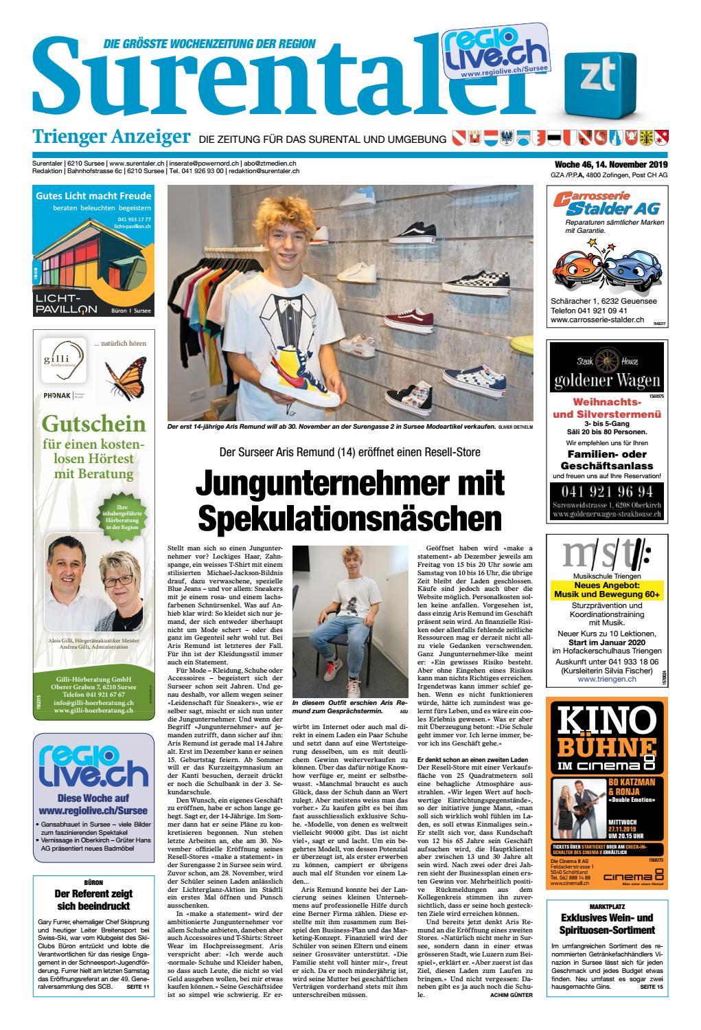 Surentaler 34/15 by ZT Medien AG - issuu