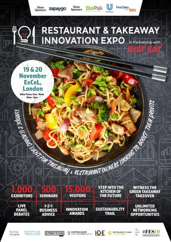 Restaurant Takeaway Innovation Expo 2019 Showguide By