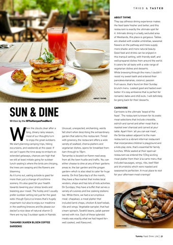 Page 21 of Sun & Dine