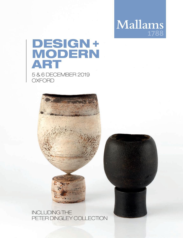 Design + Modern Art   20th & 20th December 20 Mallams Oxford by ...