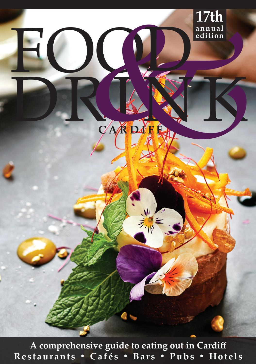 Cardiff Food Drink Guide 2019 By Food Drink Guides Issuu