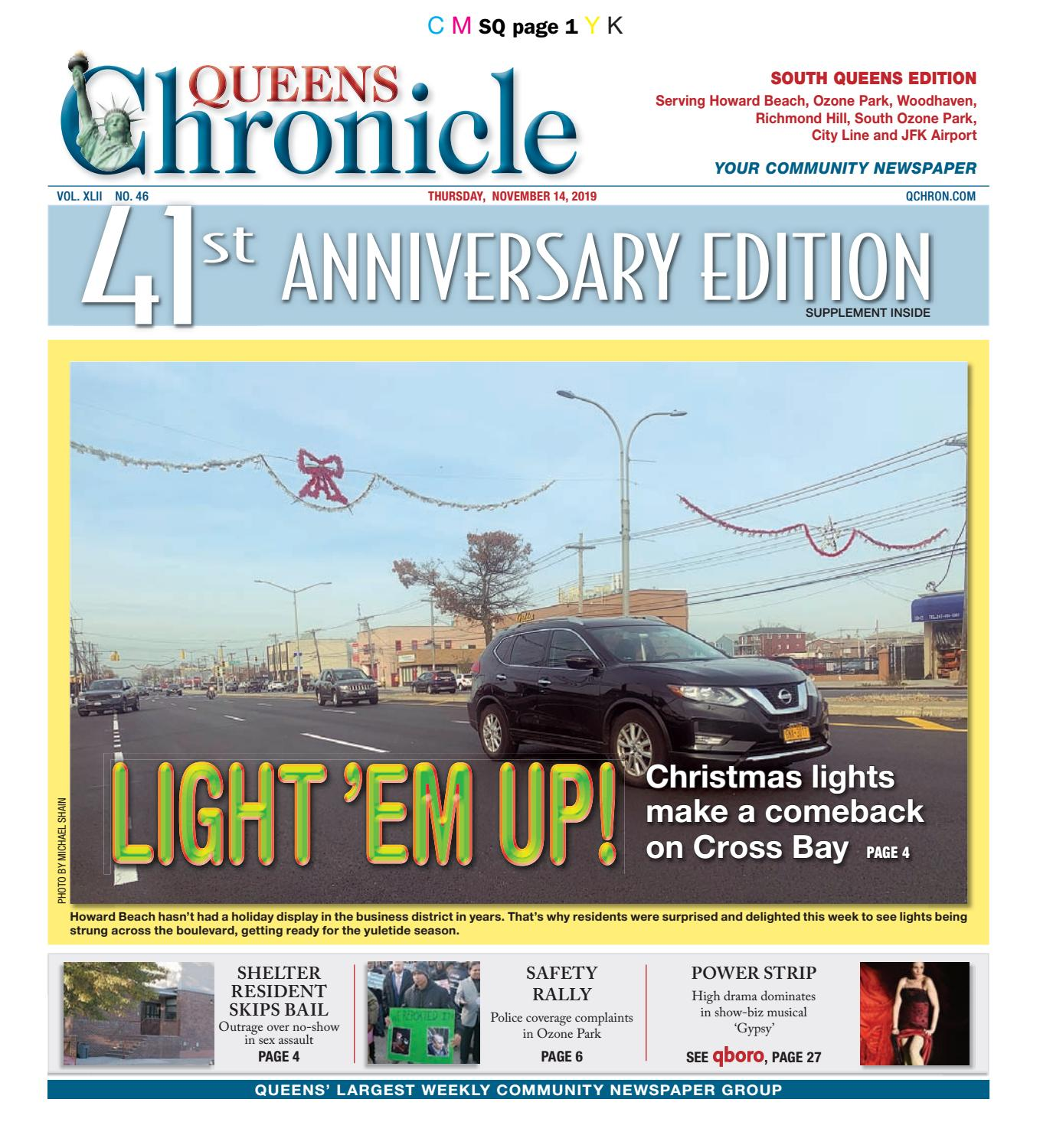 Queens Chronicle South Edition 11 14 19 by Queens Chronicle