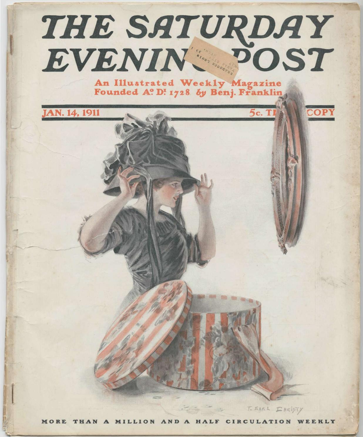 The Saturday Evening Post 01 1919 Vintage By алиса Issuu