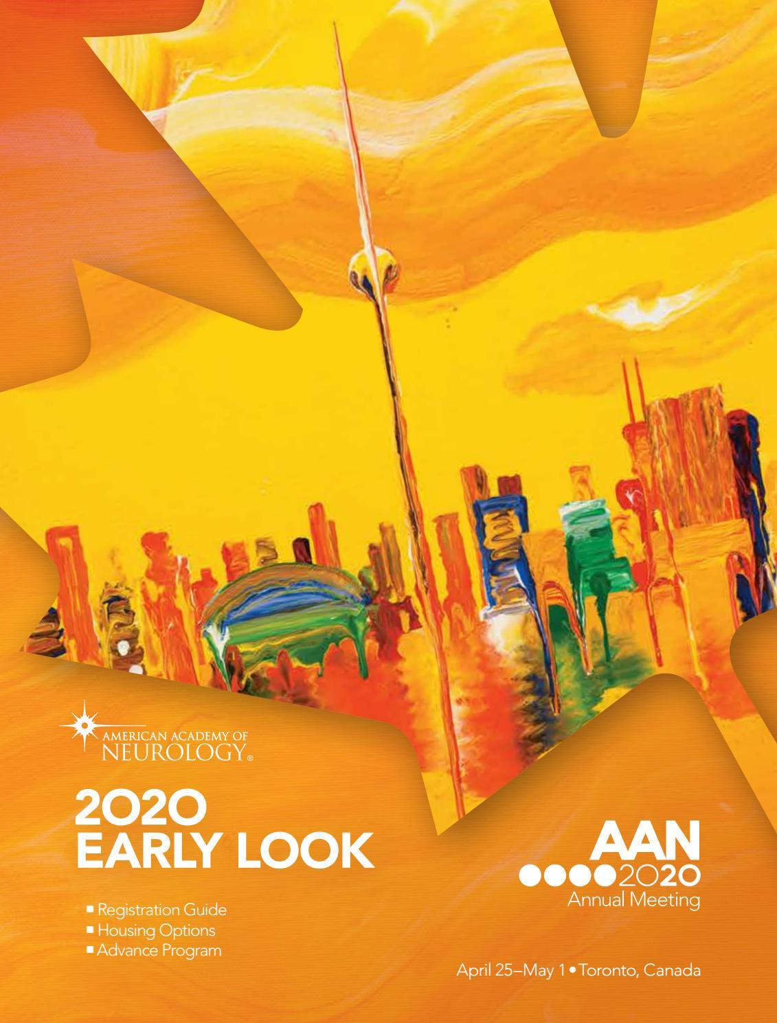 2020 Aan Annual Meeting Early Look By American Academy Of Neurology Issuu