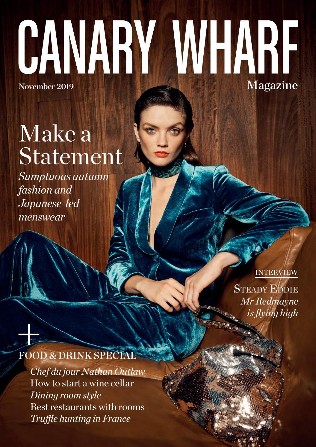 Amber Marie Goetz canary wharf magazine november 2019luxury london media