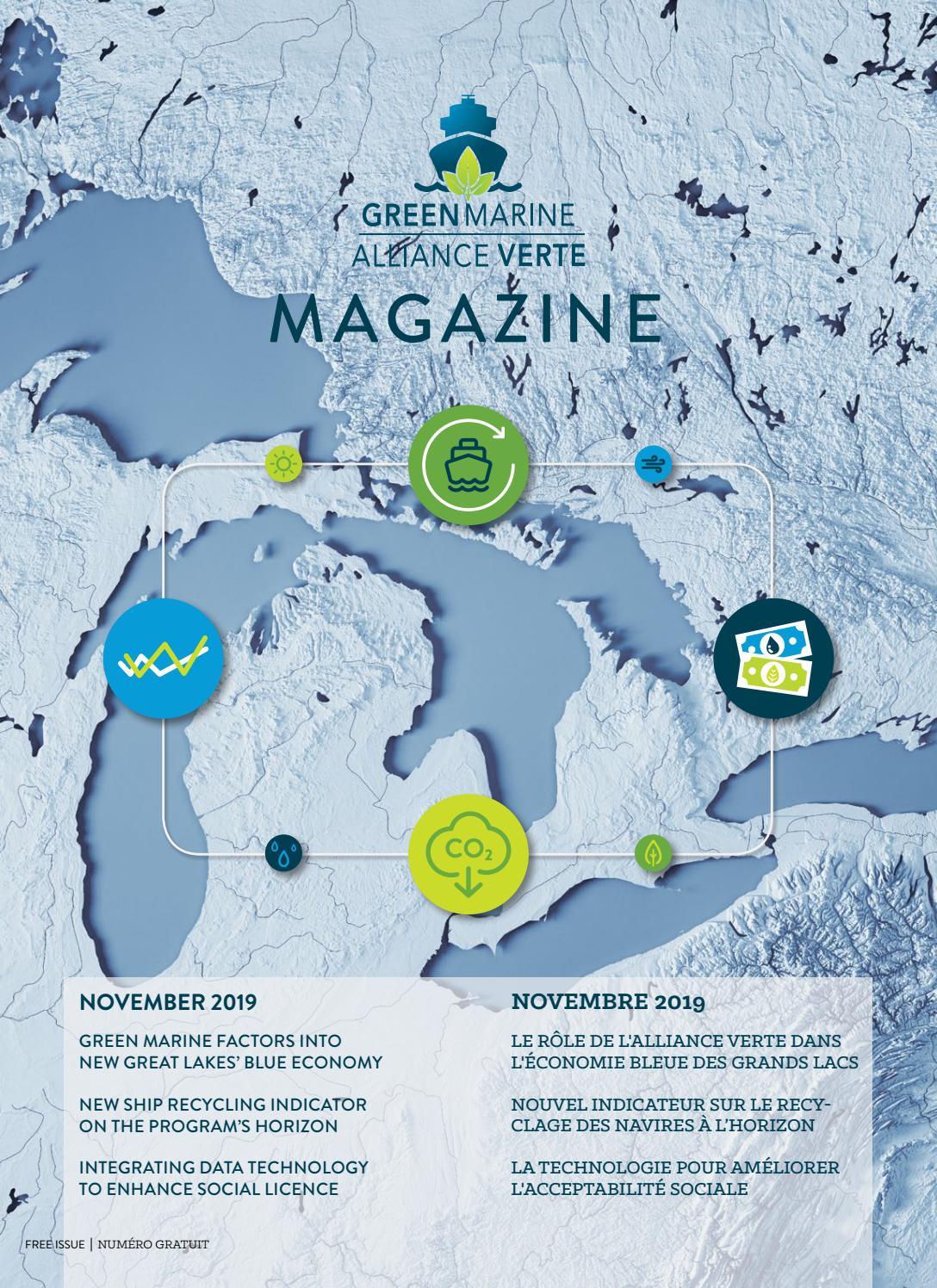 Restaurant Americain Plan De Campagne green marine magazine de l'alliance verte - nov 2019