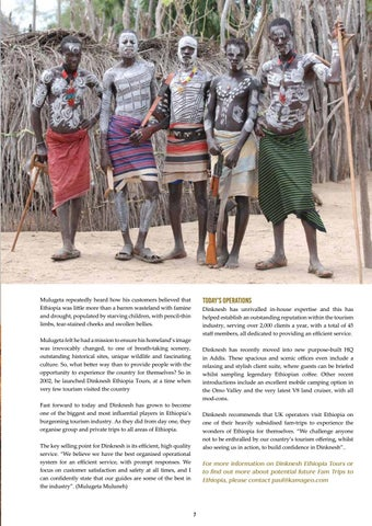 Page 7 of MY MISSION IS TO SHOW YOU THE REAL ETHIOPIA