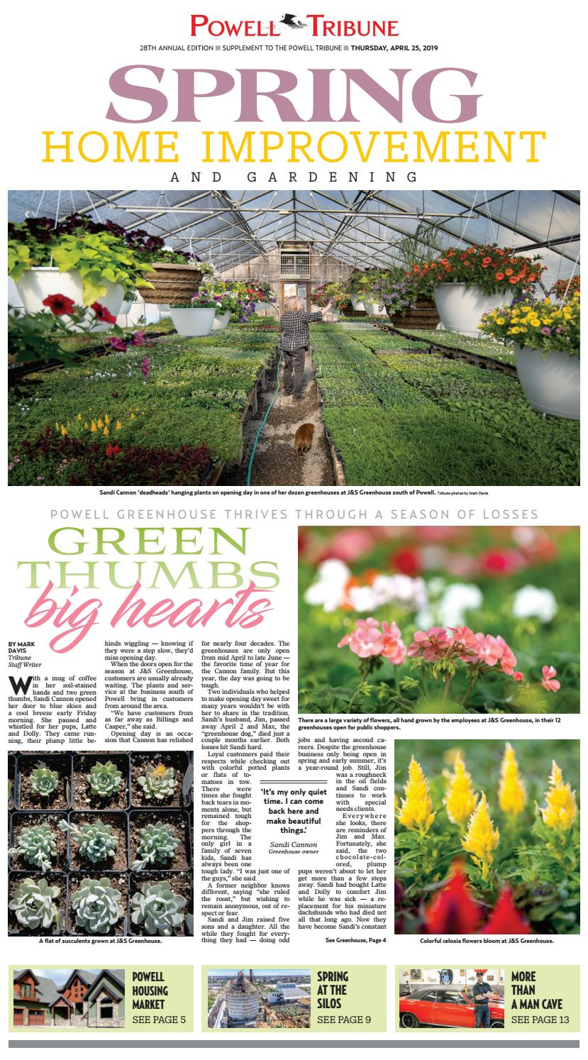 Tribune Spring Home Improvement April 25 2019 By Powell