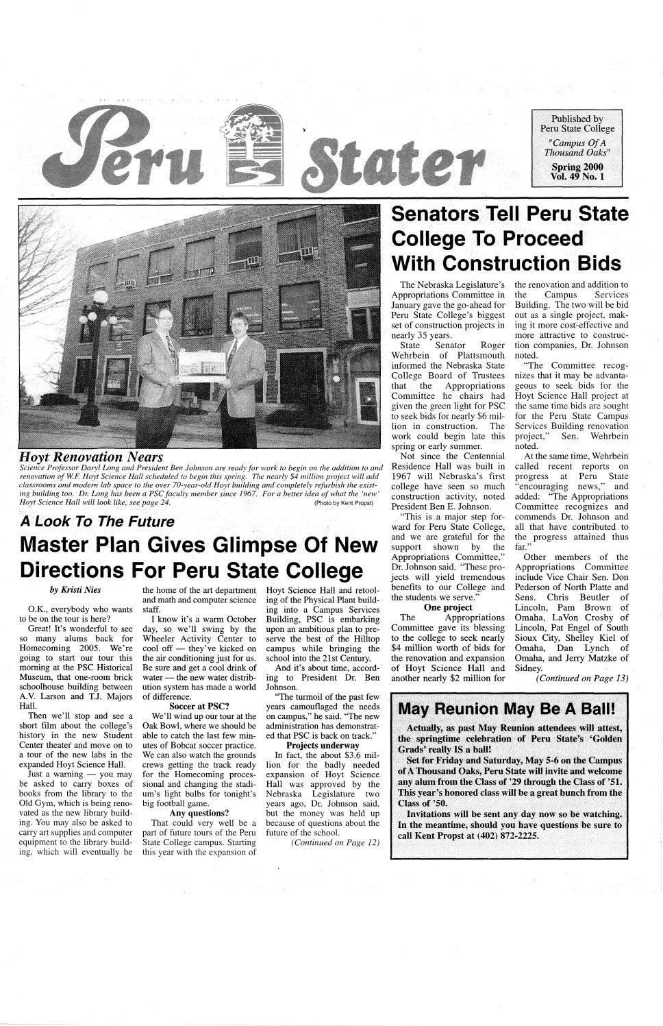 Amerus Roofing El Paso 2000 the peru stater (nebraska)peru state college
