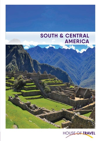 South Central America Brochure 2020 By House Of Travel Issuu