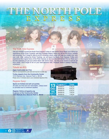 Page 6 of North Pole Express 2019