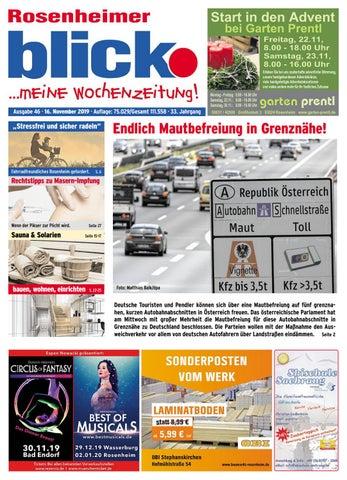 Rosenheimer blick Ausgabe 46 | 2019 by Blickpunkt Verlag