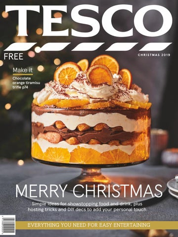 Tesco Magazine Christmas 2019 By Tesco Magazine Issuu
