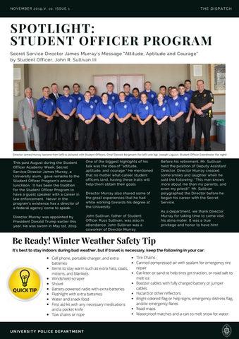 Page 3 of SPOTLIGHT: Student Officer Program