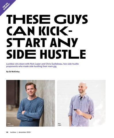 Page 18 of tHesE Guys cAn kicKsTart aNy sidE hustLe