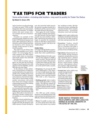 Page 37 of Side-hustle tRaders who hold Down a day job Could be viewed as activE tradeRs in the Eyes of the irs.