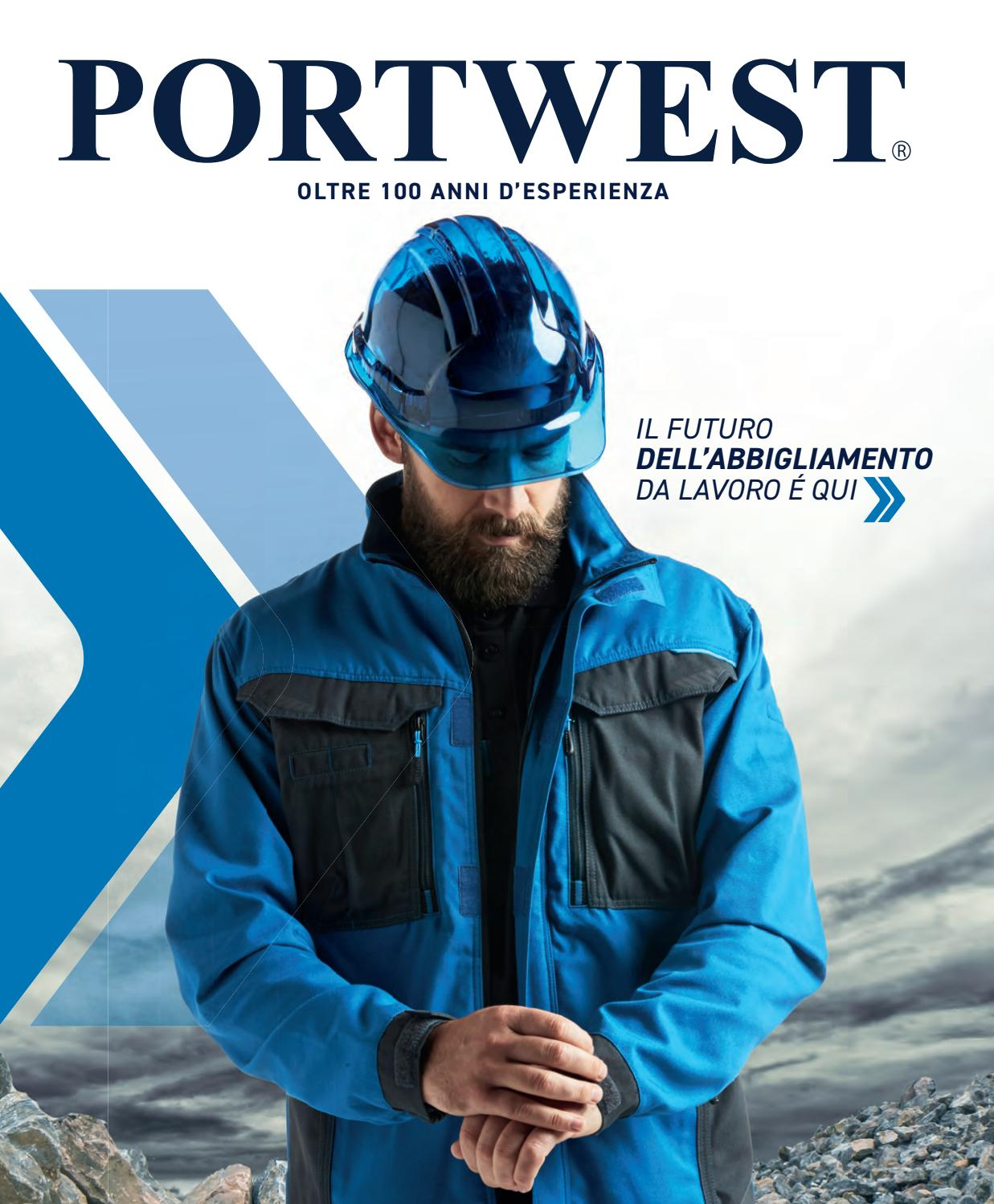 Portwest BizFlame Pro Tuta con bretelle resistenti alle fiamme protezione da saldatura FR37