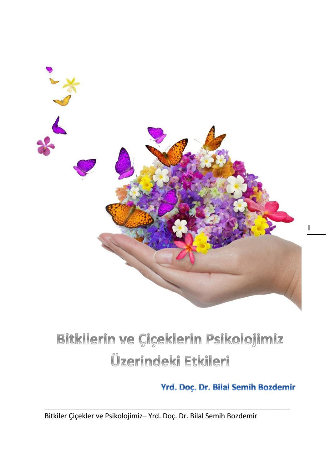 Bitkiler Ve Insan Piskolojisi By Prof Dr Bilal Semih Bozdemir