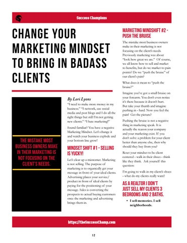 Page 12 of Change Your Marketing Mindset To Bring In Badass Clients