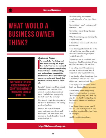 Page 30 of What Would A Business Owner Think?