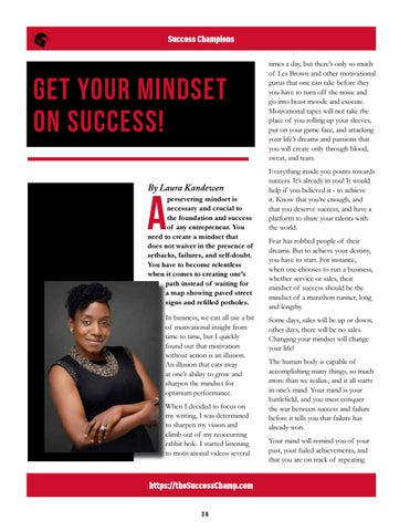 Page 36 of Get Your Mindset On Success