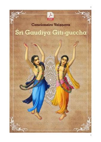 Cancioneiro Vaisnava Sri Gaudiya Giti Guccha By Braja Editora