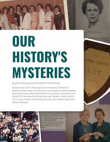 Page 19 of Our History's Mysteries