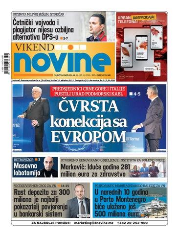 Dnevne Novine 16 17 Novembar 2019 By Dnevne Novine Issuu