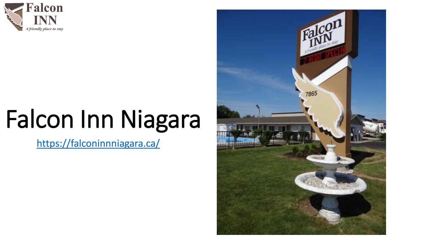 niagara falls falcon inn motel hotel by the casino niagara falls on canada