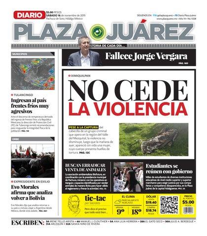16 11 19 by Diario Plaza Juárez issuu
