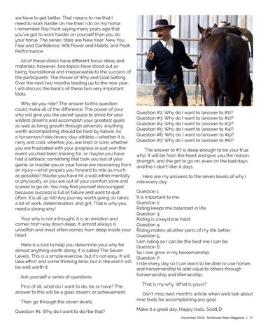 Page 17 of Your Why Matters - Scott DePaolo Horsemanship