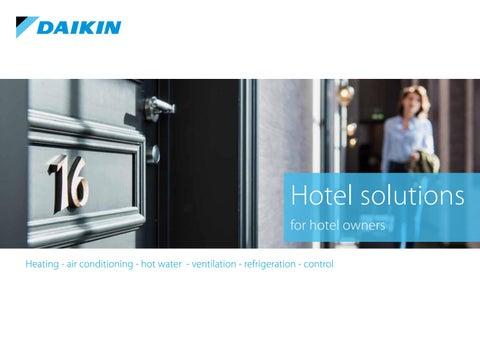 Daikin Cyprus. Μια ολοκληρωμένη λύση κλιματισμού στο ξενοδοχείο σας