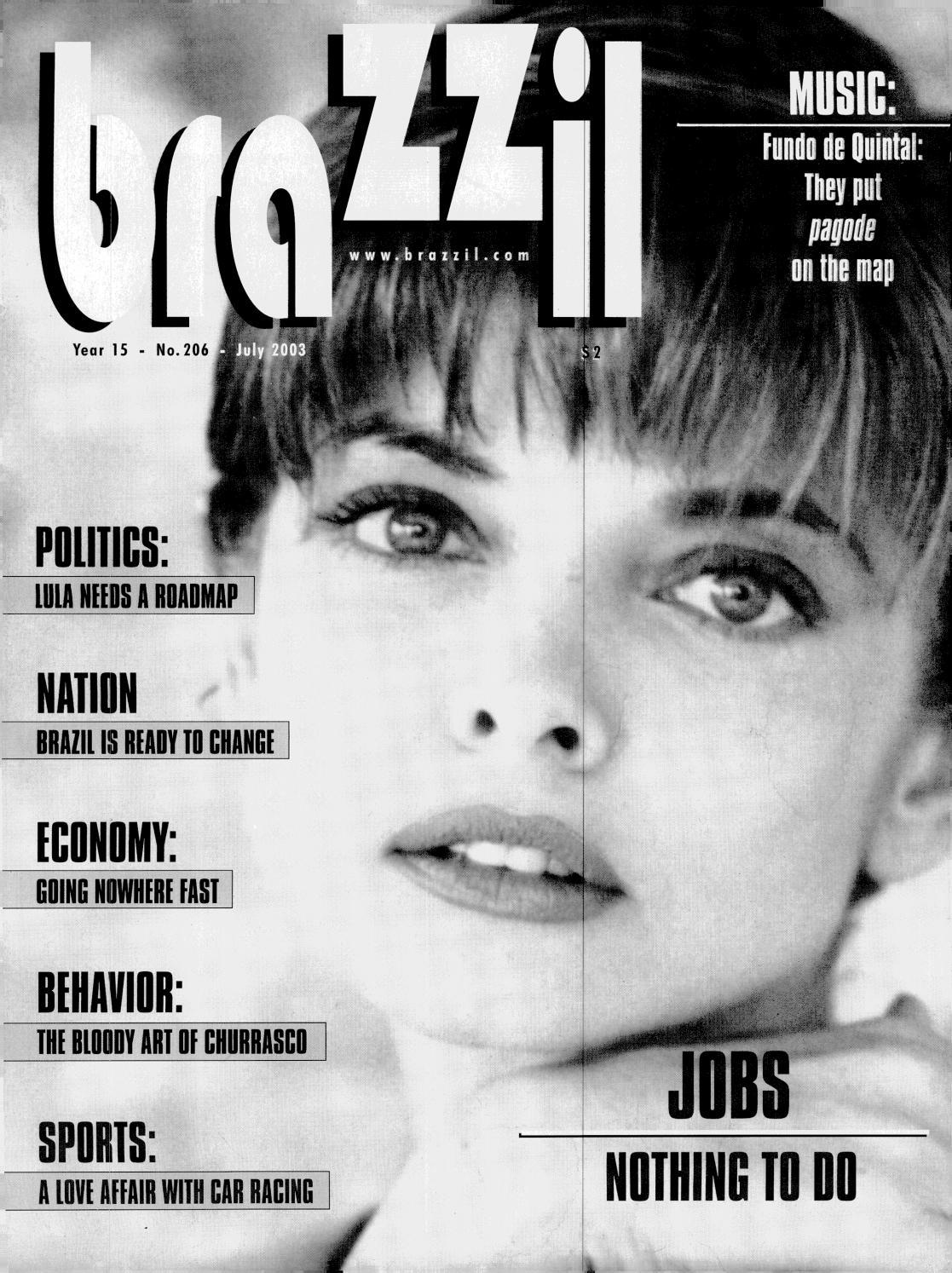 Brazzil Year 15 Number 206 July 2003 By Brazzil Magazine Issuu