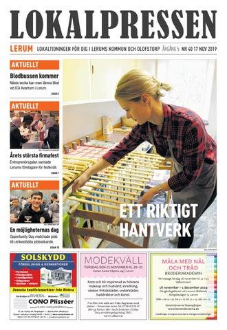 ppen verksamhet i Lerum | unam.net